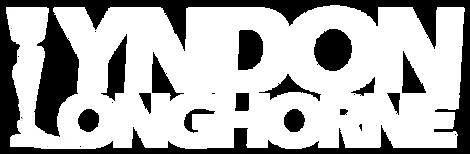 Lyndon Longhorne Logo1 Black bg white te