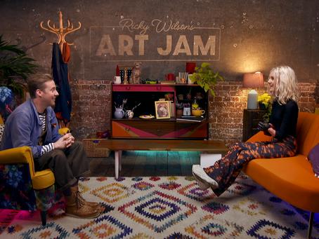 Tilly Lockey features on Ricky Wilson's ARTJAM