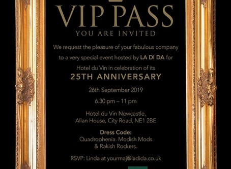 Hotel du Vin 25th Anniversary party