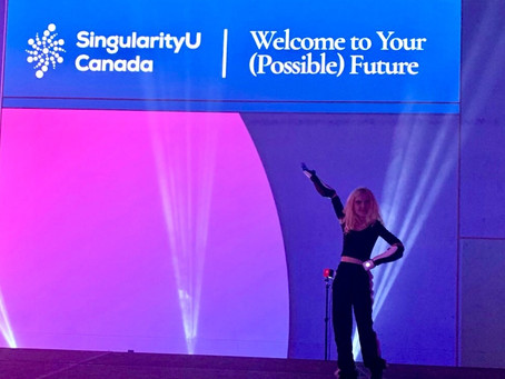 Tilly On The Main Stage at SuCanada Summit
