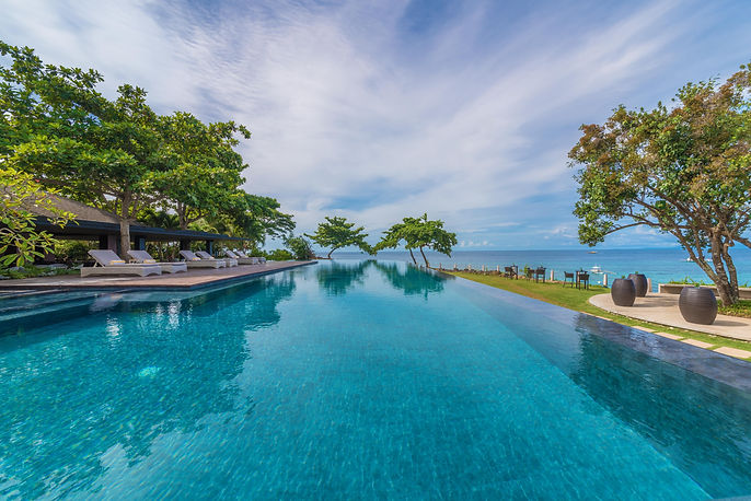 Infinity pool, Amorita Resort, Panglao B