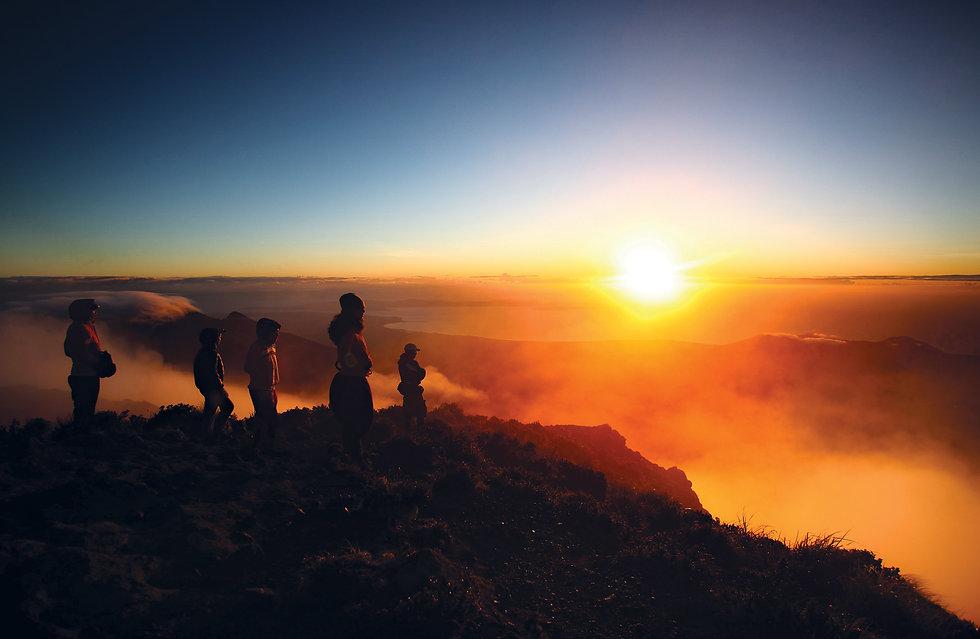 Mt Apo peak at sunrise by Rhonson Ng.jpg