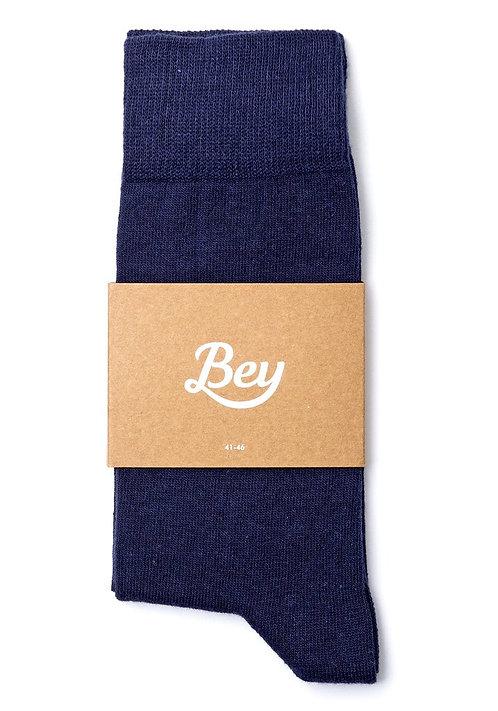 Bey Lacivert Çorap