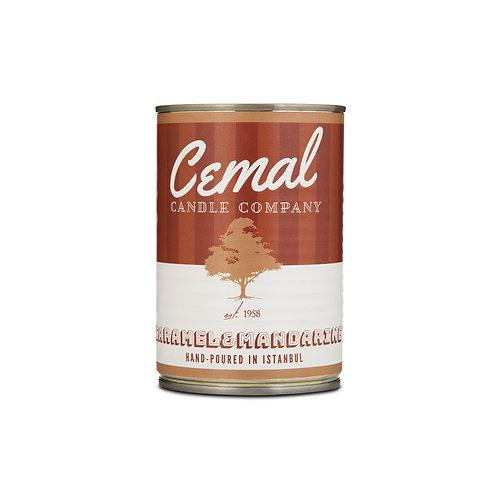CEMAL CANDLE Caramel&Mandarine