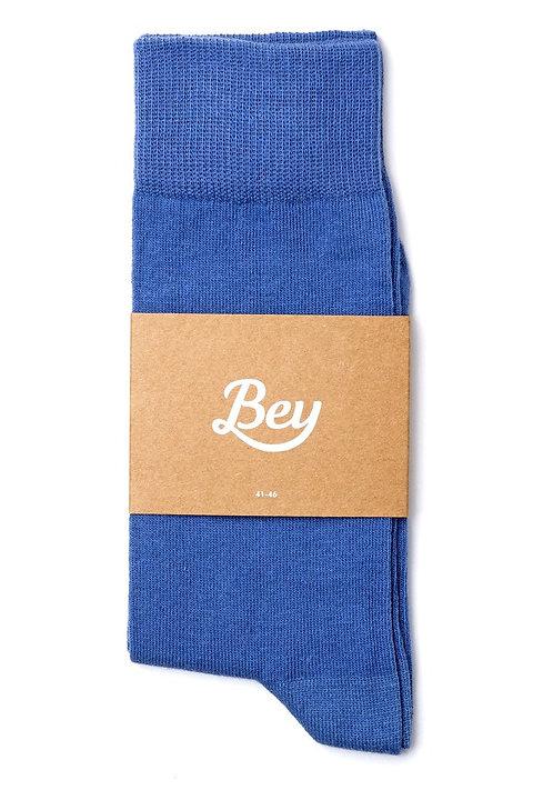 Bey Koyu Mavi Çorap