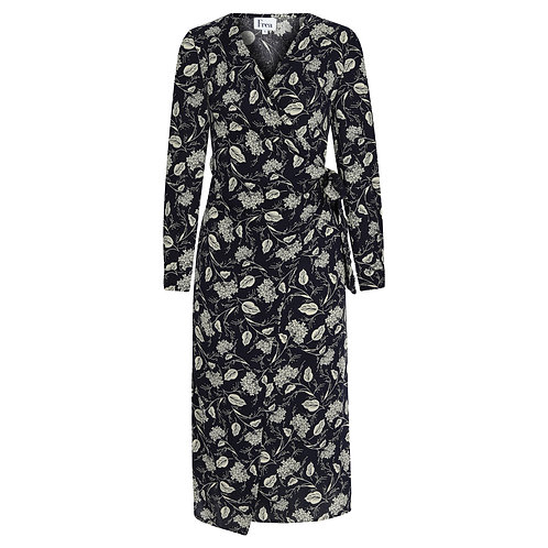 FREA Monica Lacivert Çiçekli Elbise