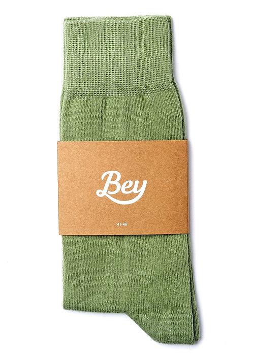 Bey Açık Yeşil Çorap