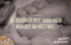 Förlossningsrädsla - skapa trygghet inför förslossning både för den gravida och partnern