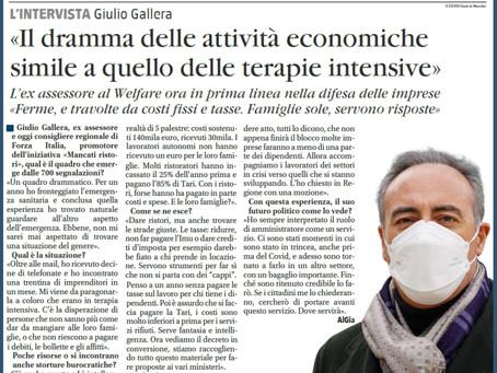 MANCATI RISTORI, IL DRAMMA DELLE ATTIVITÀ ECONOMICHE