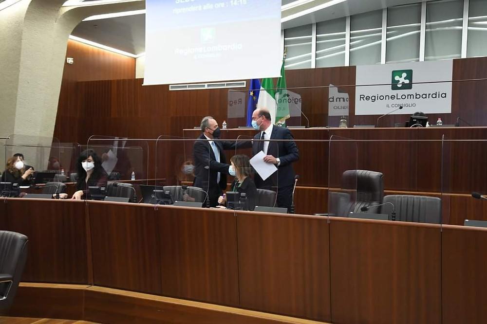 Giulio Gallera elezione Presidente Commissione bilancio