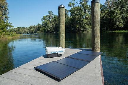 Spirit Outboard Motor Solar Charging