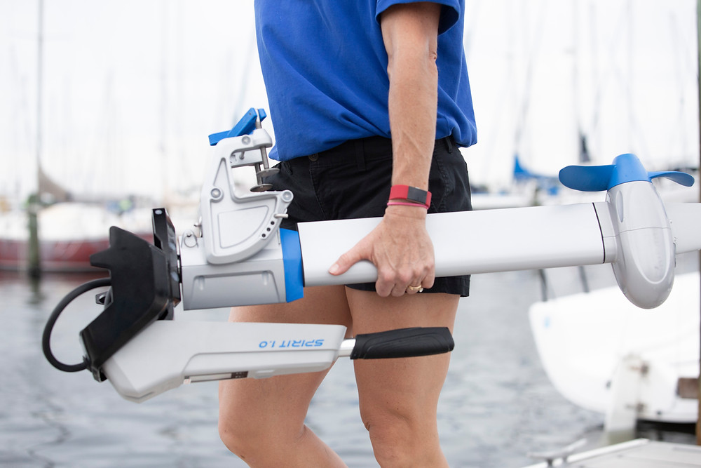 Small Motor for Boats Foldable Tiller