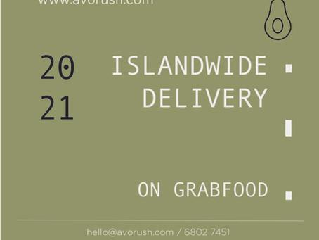 ISLANDWIDE DELIVERY on GRABFOOD