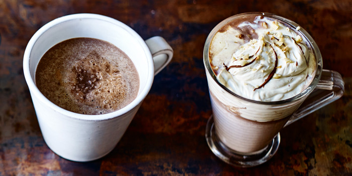 Photo from the BBC of Hot chocolate