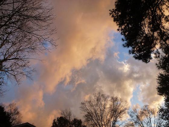 Surreal February Sky