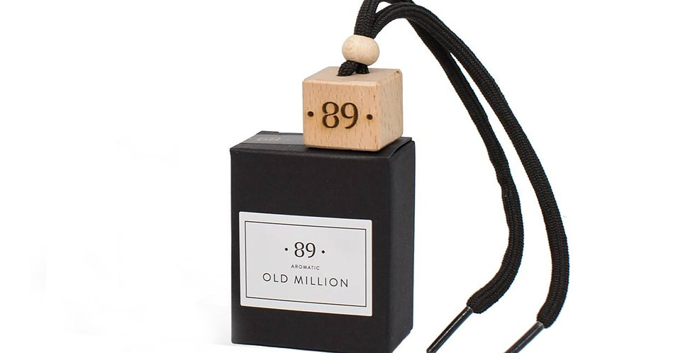 "Car Air Freshener ""OLD MILLION"""