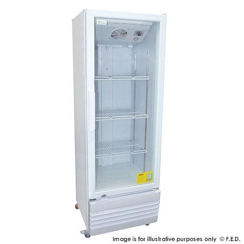 Single glass door colourbond upright drink fridge LG-220GE