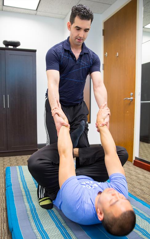 A full body Yoga like stretch