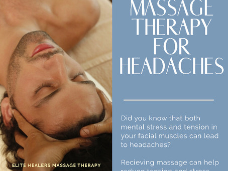 Headaches & Massage Therapy