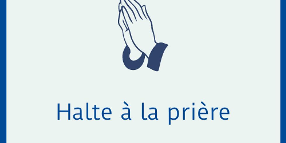 Halte à la prière