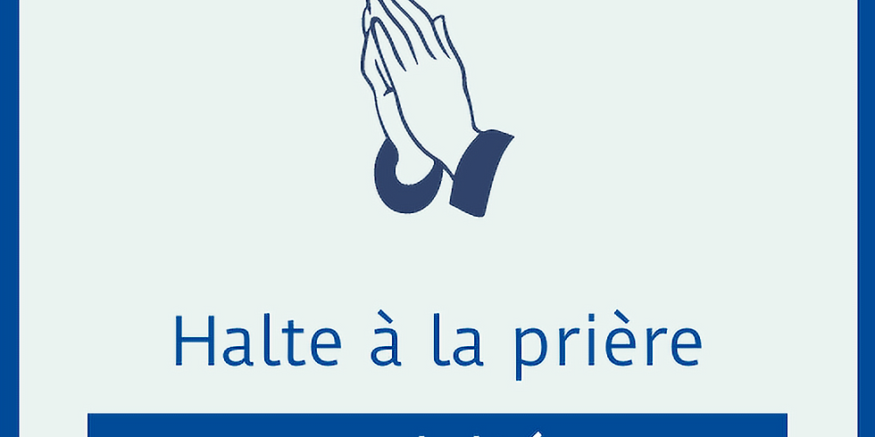 Halte à la prière revisitée