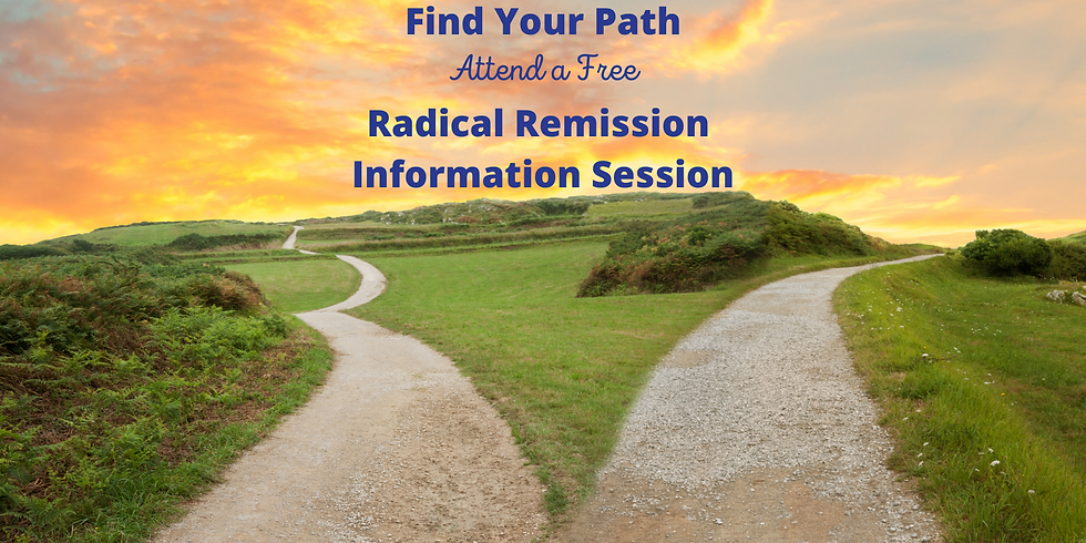 Free Session to Learn About Radical Remission