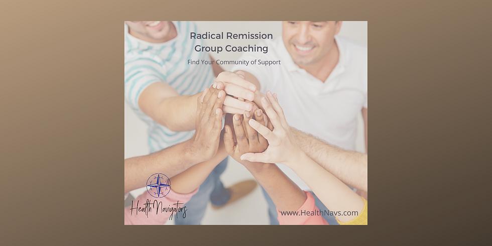 Radical Remission Group Coaching