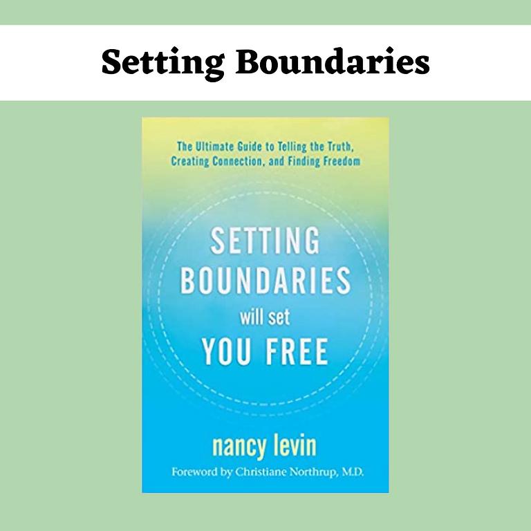 Setting Boundaries Deep Dive Working Group