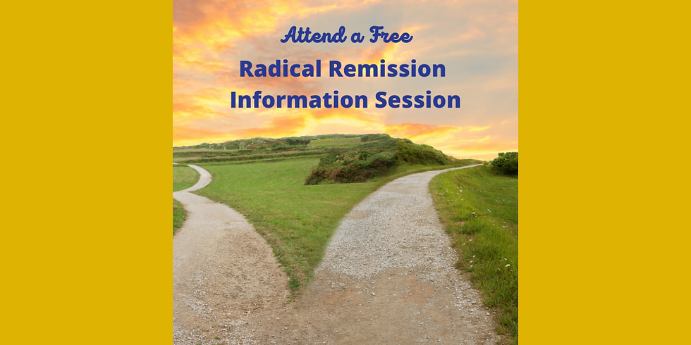 Introduction to Radical Remission Workshop