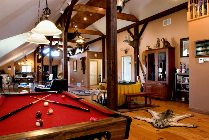 EVO Lodge Pool Table
