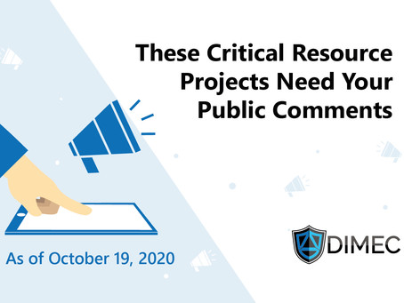 Be Heard! Regulators are Accepting Public Comments for these Projects