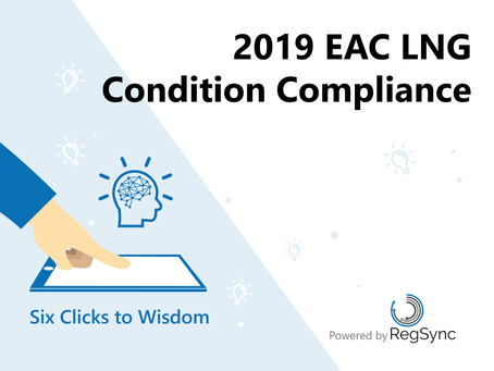 Six Clicks to Wisdom: LNG EAC Condition Compliance