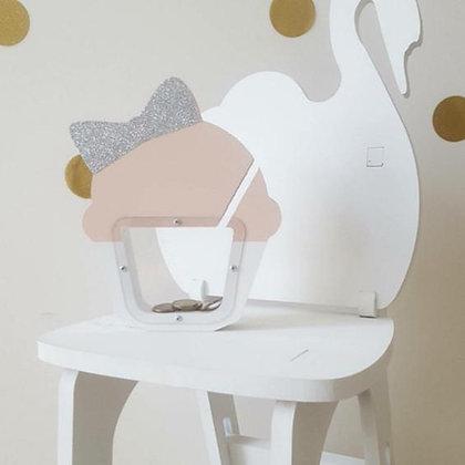 Design Devine - Holz Sparkässeli - Cupcake