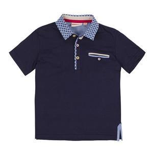 Boys Poloshirt mit sportlichem Kragen (2 Farben)