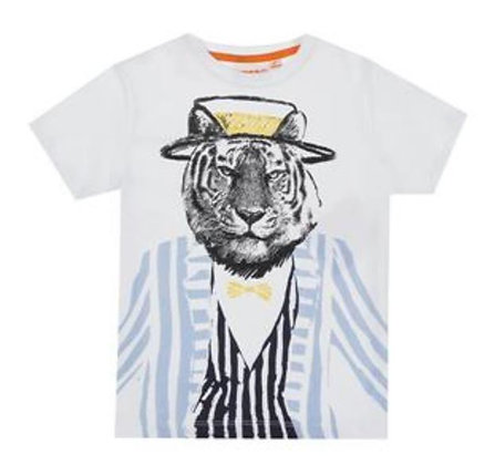Boys T-Shirt Tiger