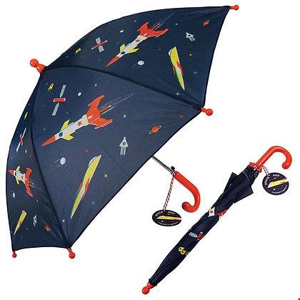 """Rex Kinder Regenschirm """"Raumschiff"""""""