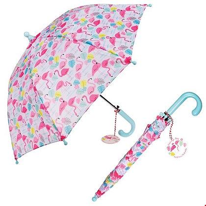 """Rex Kinder Regenschirm """"Pink Flamingo"""""""