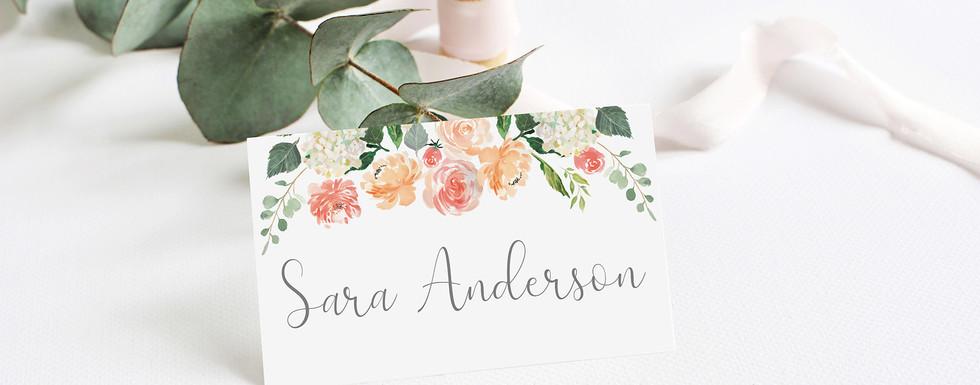 Peach Floral Place Card.jpg