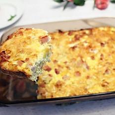 Ham, Egg & Cheese Potato Bake