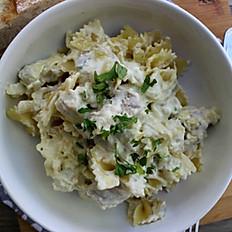 Artichoke and Chicken Pasta