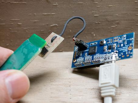 SAMD21E18A基板の動作確認