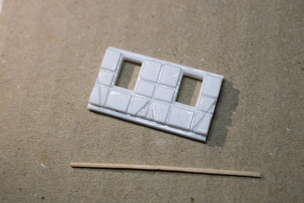 木組み:壁パーツの原型