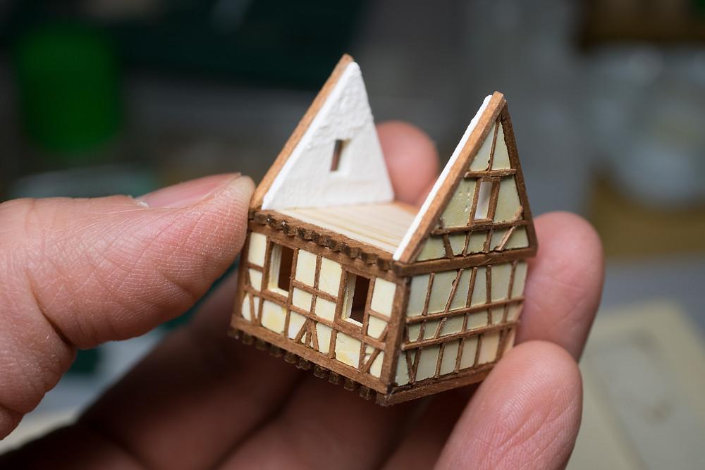 木組み:パーツ組み立て中2