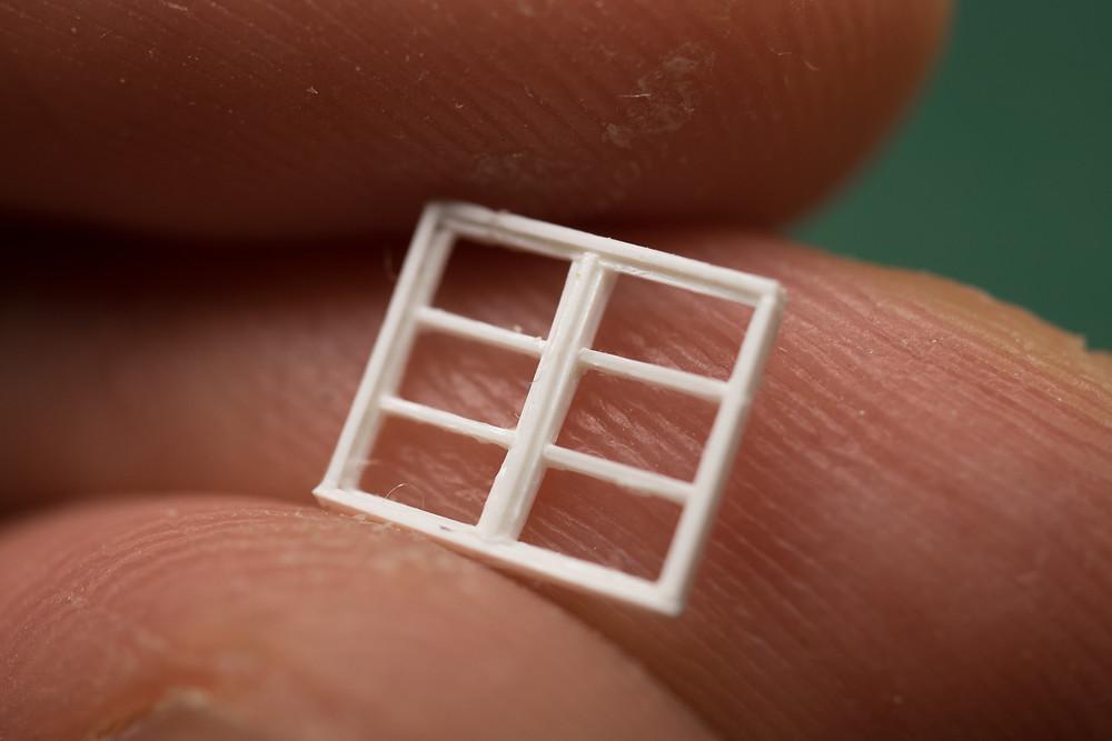 窓枠の原型