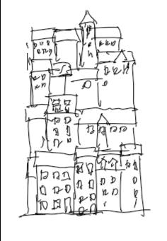 縦積みの街