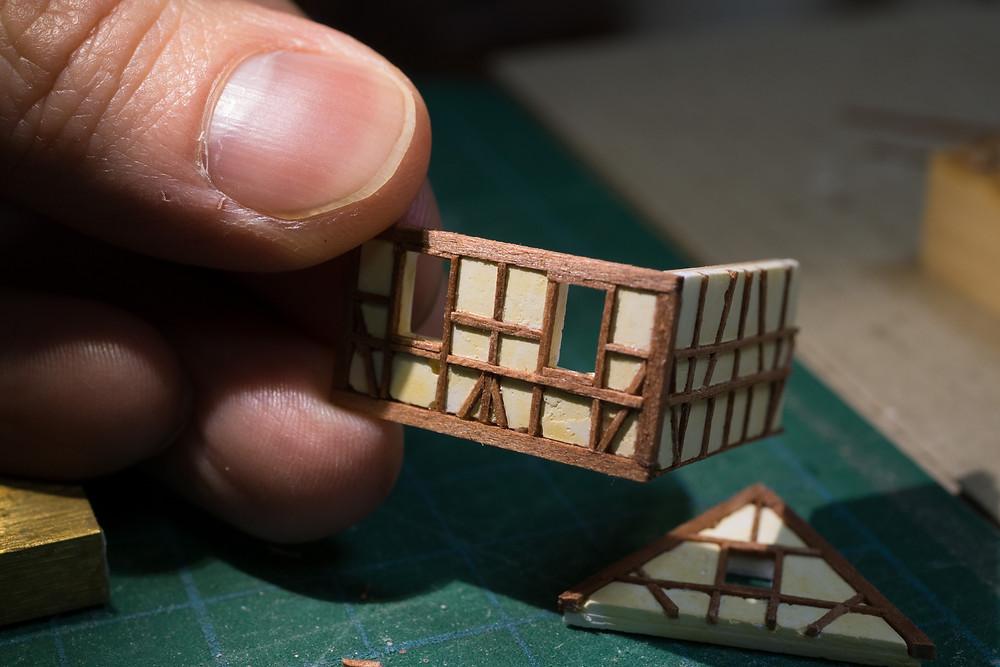 木組み:パーツ組み立て中1