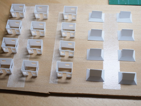製作記:ツリーハウス量産型の塗装