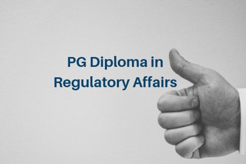 PG Diploma in Regulatory Affairs (PGDRA)