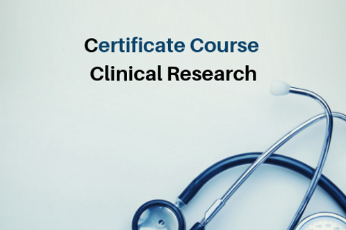 Certificate Course Clinical Research (CCR)