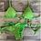 Thumbnail: Lacinho Verde Canelado SM